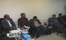 برگزاری جلسه هم اندیشی وبررسی اعتبارات شبکه بهداشت و درمان قاین