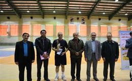 جشنواره استانی والیبال با معرفی تیم های برتر در قسمت برادران به کار خود پایان داد